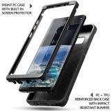 Poétique pour le noir raboteux antichoc de cas de couverture de la note 8 de galaxie de Samsung [révolution]