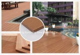 Recycled Non-Capped Wood Composite Plastic Decking in High Quality