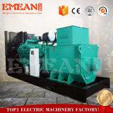 трехфазной генератор охлаженный водой тепловозный 600kw альтернатора AC безщеточной