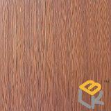 Línea papel decorativo del grano de madera para los muebles de China