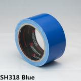 Bande d'étape de tissu colorée parRésidu de Somitape Sh318 avec l'adhésif en caoutchouc