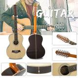 39 guitarra acústica contínua do tamanho da polegada 12-String