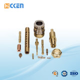 Kundenspezifisches Messingkupfer CNC-maschinell bearbeitenluftfahrt-Aluminium-Teile