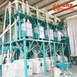 유럽 기술 Degerminating 최고 50t/24h 옥수수 제분기 가공 공장