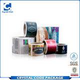 Étiquettes adhésives écologiques personnalisées de collants d'emballage