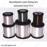 Venda por grosso Personalizar diâmetros diferentes cores Multi Nível económico T015 Linha de pesca de nylon monofilamento 08C-T015