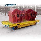 Viga de acero de fabricación de carro de la transferencia de la rampa motorizada