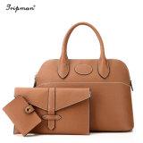 Conjunto de la bolsa de la marca de las mujeres señoras bolso