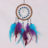 American Dream Catcher de Artesanía de plumas, la pared cuelgan, Dreamcatcher