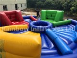 ¡Venta caliente 2017! Del hipopótamo del perro chino juego inflable abajo/juego inflable para la venta