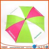 30 인치 섬유유리 강한 방풍 상표가 붙은 골프 우산