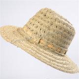 Sombrero Sunhat del compartimiento de la paja del sombrero del verano de Widebrim