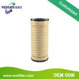 Filtro de combustible de diesel del material de construcción para el generador o el excavador 1r-0756