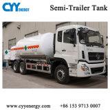 低温学の半酸素窒素のトレーラーのタンカーの交通機関タンク