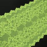 Зеленая швейцарская ткань шнурка маркизета для вспомогательного оборудования одежды
