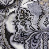 Velvet (FEP018)著新しいプリント花ファブリック