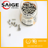 Esfera de aço de cromo AISI52100 do G10 2mm para a esfera pequena do parafuso