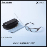vidrios protectores del laser de los anteojos de la protección del laser de 10600nm C02 de Laserpair