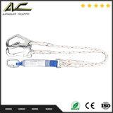 Geführter Typ Fall-Überspannungsableiter-flexible Anchorage-Zeile Sicherheitsgurt mit Carabiner