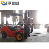 Оборудования для обработки контейнеров дизельный вилочный погрузчик 3 тонн