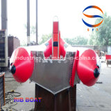4.5 Bateau gonflable de côte de fibre de verre de la Chine de mètres