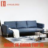 Eleganter Marine-Blau-Möbel-Wohnzimmer-Leder-Sofa-Art-Italiener