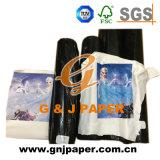 Papel de transferencia de calidad superior de la sublimación del calor de la transferencia de imagen de las camisetas