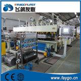 Van pvc pp- PE de Plastic Machine van de Uitdrijving van het Blad met Ce/ISO