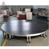 Konzert-/Event-bewegliches Kreisstadium, rundes Aluminiumstadium