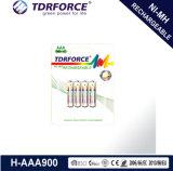 Batería larga de la vida de servicio del níquel D/Hr20 del hidruro recargable del metal con el Ce para el juguete