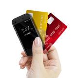 값을 매긴 직접 7s 소형 카드 전화 쿼드 코어 3G 전화, WiFi GPS를 가진 소형 카드 크기