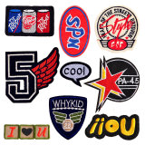 Custom Applique Sequin Embroidered Embroidery Patches, Chenille Iron on Patch, Sew on Fabric Patch