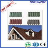 Popular materiales para techos de tejas de metal recubierto de piedra