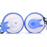 Съемные прочный силиконовый чехол спорта на открытом воздухе бутылка воды с FDA/LFGB прошли