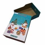 Caixa de empacotamento da caixa feita sob encomenda da impressão de cor