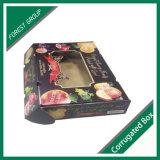 Cardbaord 접힌 주문 광택 있는 니스로 칠하는 상자