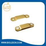 Abrazaderas de cobre amarillo de la cinta de la abrazadera de la montura del cable
