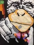 Handmade картина животного сала на картине искусствоа холстины для украшения стены