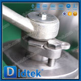 La chiave di Didtek fa funzionare la valvola a sfera a due pezzi di galleggiamento