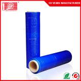 Estique o LLDPE película azul