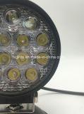 Круглый свет работы пятна 42W/потока СИД для Offroad виллиса (GT2003-42W)