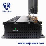 6개의 안테나 셀룰라 전화 3G, WiFi & RF 방해기 (315MHz/433MHz)