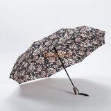 رخيصة سعر زهرة طباعة هبة ثني مظلة