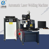 La máquina soldadora láser automático con CCD