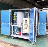 Macchina utilizzata di filtrazione dell'olio del trasformatore di alto vuoto della Doppio-Fase di Zja