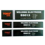 De Elektroden van het Lassen van het Koolstofstaal van Aws A5.1 E6013 van het Merk van Toko