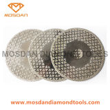 Electroplated glacé de 7 pouces pour la pierre de marbre de lames de scie