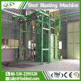 クリーニングの金属の部分のための大きい二重フックショットの発破機械