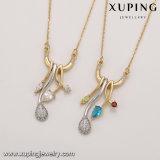 Form-Goldschmucksache-natürliche Edelstein-Halsketten