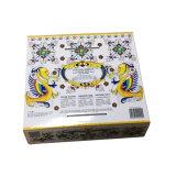 Contenitore di carta di cartone ondulato personalizzato per l'imballaggio crema del bagno